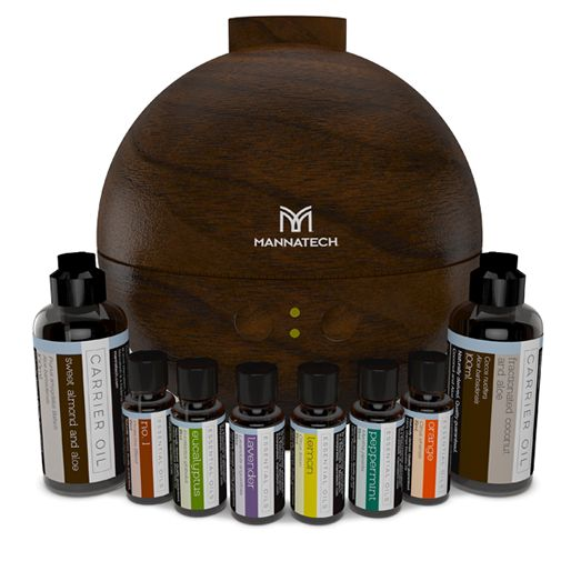Essential Oils Kit – 8-Piece & Diffuser